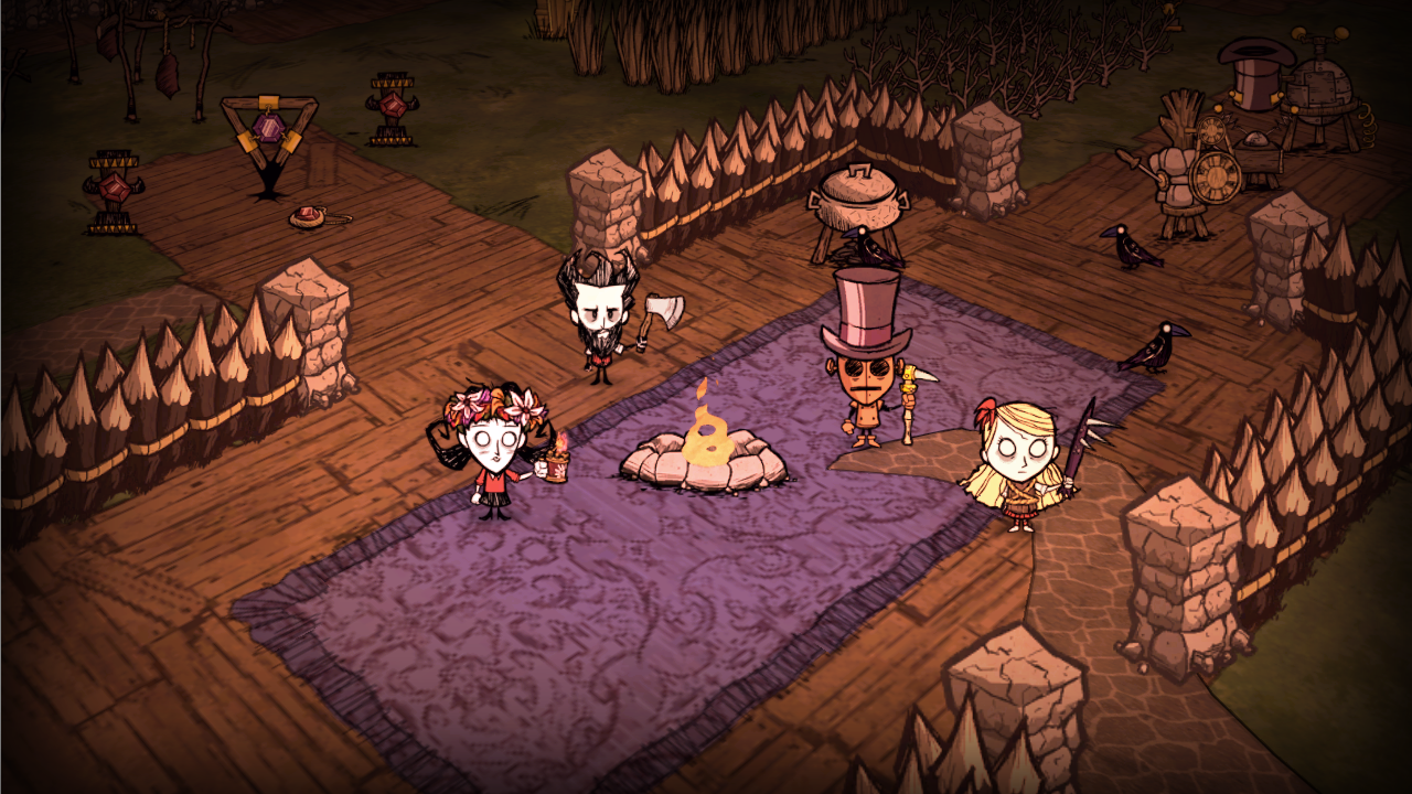 klei dont starve switch