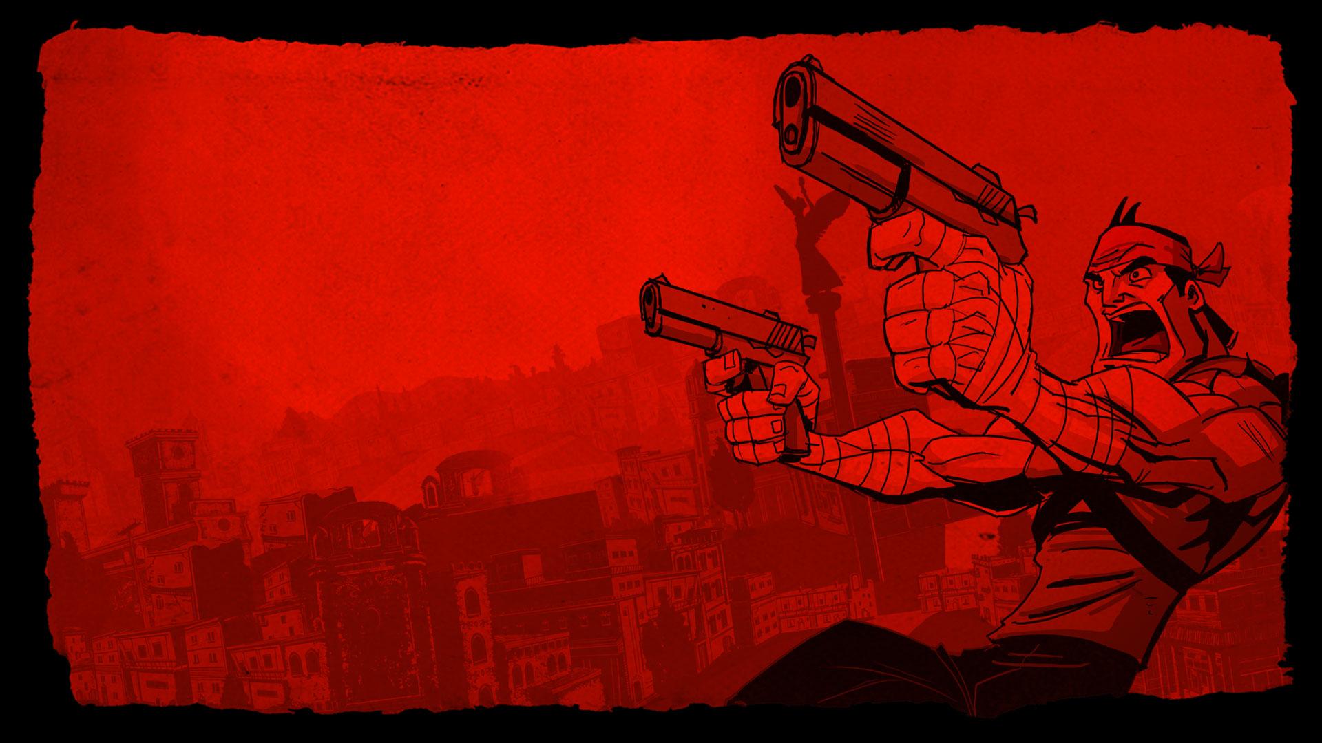 Shank Wallpaper - Red Rage | Klei Entertainment
