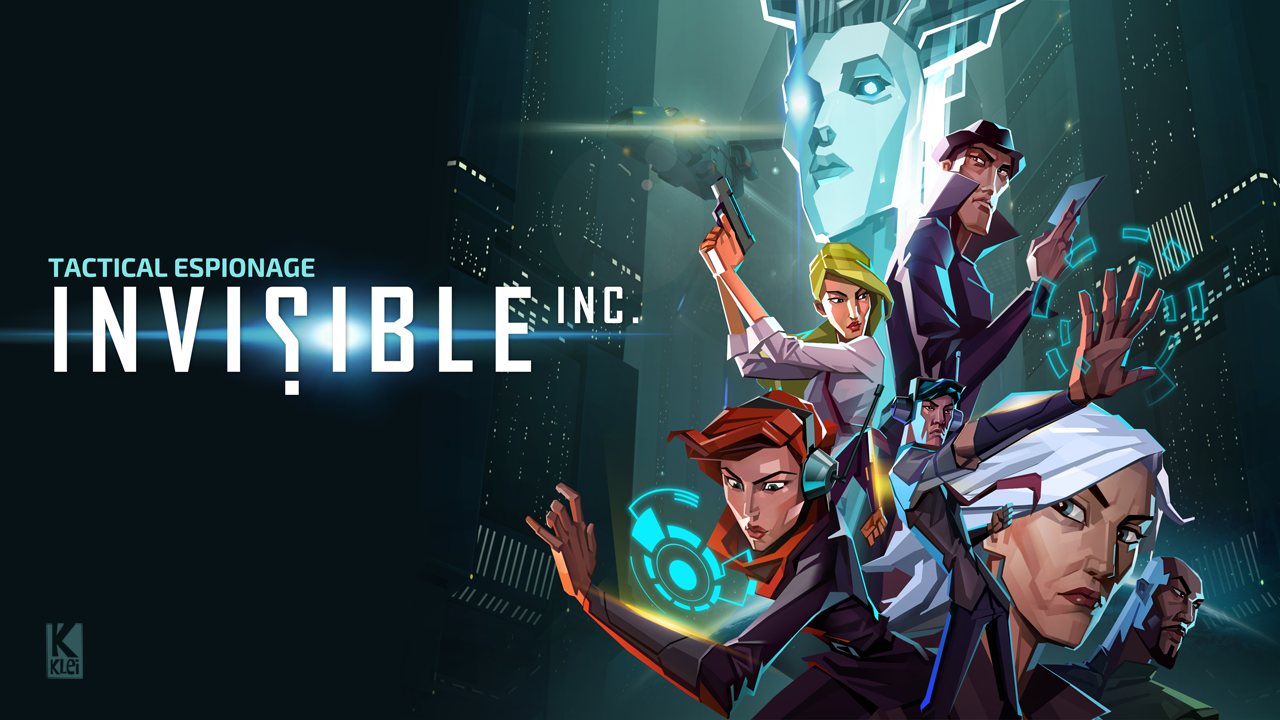 Invisible Inc Character Wallpaper